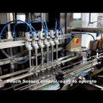 automatisk 6 hoveder, der udleverer vaskemiddel klorvæske påfyldningsmaskine linje