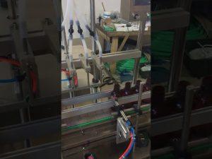 4 hoveder lille flaske væskefylde maskine