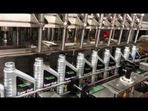 helautomatisk stempel smøremiddelolie smøreolie fyldningsudstyr linje