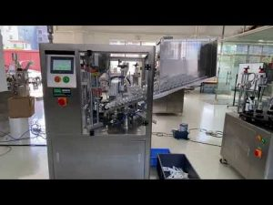 automatisk plastrørfyldningsmaskine til håndcreme tandpasta