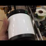 husholdning glas krukke aluminium dåse og flaske klistermærke mærkning maskine