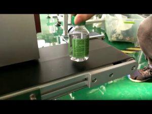 skrivebordsklistermærkningsmaskine til plastikflasker