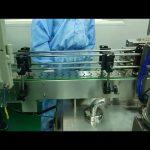 30 ml til 100 ml dobbeltspor påfyldnings- og skruemaskine til rund flaske