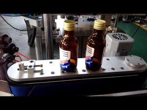 selvklæbende klistermærke automatisk rund flaskemærkningsmaskine