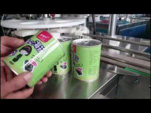 fuld automatisk kosmetisk flydende flaskepåfyldningsmaskine med capper