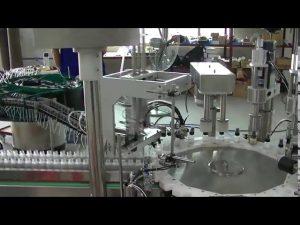 roterende plade model lille trigger pumpe cap caping maskine til salg