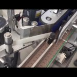 3000 bph automatisk lodrette hætteglas flasker mærkatmærkning maskine