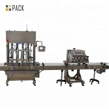 Desinficér gelpåfyldningsmaskine