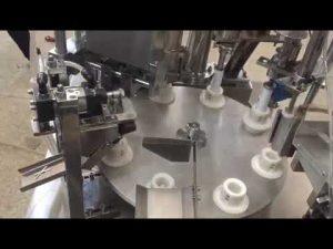 automatisk blød plastikpasta, salve, tandpasta, rørpåfyldningsmaskine