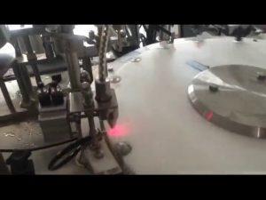 automatisk 30-50 bpm mini neglelakflaskepåfyldningsmaskine