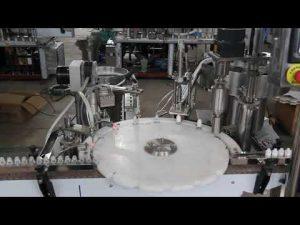 automatisk øjendråbe fyldemaskine, lille flaskepåfyldning og tætningsmaskine