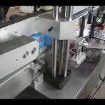 automatisk dobbelt sider flaske klistermærke mærkning maskine til rund flaske