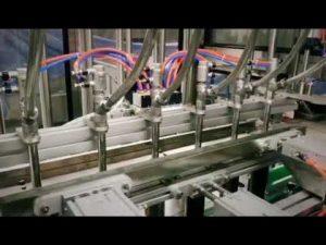 automatisk stempel, lineært rengøringsmiddel, shampoo, smøremiddelolie, viskøs, væskeformet tappemaskine