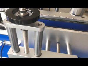 dobbelt sidet etiket brygning klistermærke automatisk rund flaske mærkning maskine
