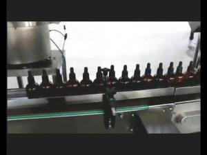 automatisk neglelak parfume øjendråber potion fylde capping maskine
