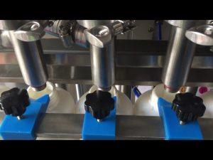 fuld automatisk stempel shampoo flydende flaske maskine pris