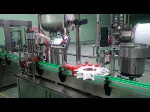 4 hoveder automatisk udfyldnings- og afdækningsmaskine med papirstop