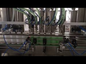 stempel flydende sæbe flaske påfyldningsmaskine