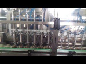 automatisk glas honning krukke yoghurt fyldning tætningsmaskine