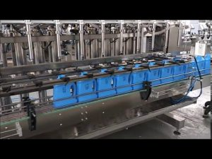 automatisk håndrenser flydende sæbe fyldemaskine stempelflaske påfyldningsmaskine