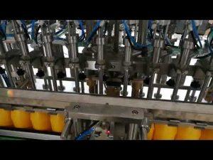 12 hoveder automatisk flaskepåfyldningsmaskine til kosmetisk ketchupolie