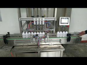 automatisk viskos flydende flaskepåfyldningsmaskine til flydende sæbe, bodylotion, shampoo
