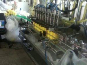 automatisk stempeldykkerdyser shampoopåfyldningsmaskine