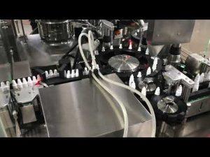 farmaceutisk øjendråbepåfyldningsmaskine til 20 ml lille hætteglas